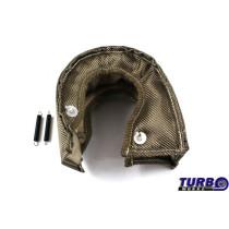 Kipufogó Turbo hővédő T3 titanium type 2